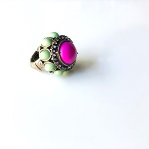 Vintage Ring with Adjustable Band